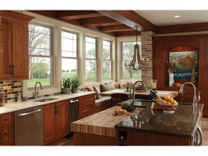New replacement windows can transform your old kitchen!