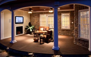 Trex Transcend Decking - or Your Outdoor Great Room!